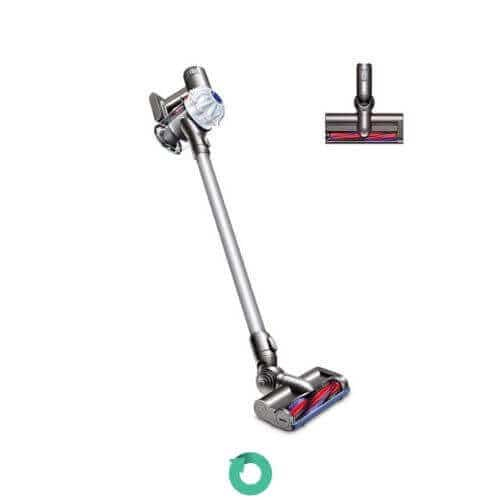 dyson v6 cordless broom vacuum cleaner