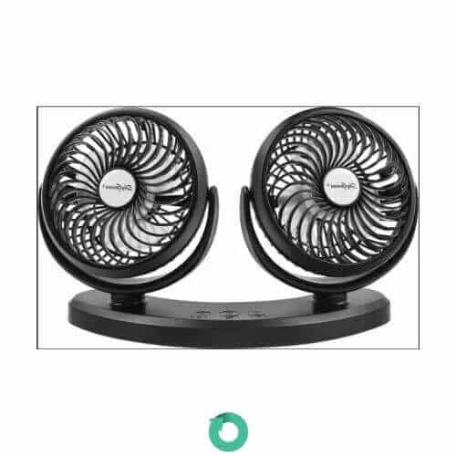 mini ventilador ajustable usb comlife