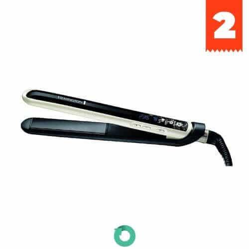 plancha alisadora cabello remington pearl s9500 ceramica avanzada