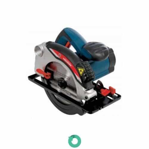 sierra circular con guia laser y disco de corte para madera de 185 mm Silverline 285873