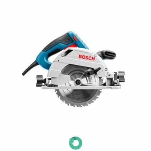 sierra circular mano bosch professional gks 55+ gce con inmersion de 135 mm y potencia de 1350w