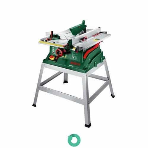 sierra de mesa para corte bosch pts 10