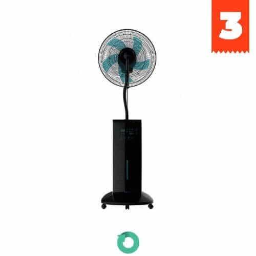 ventilador nebulizador anti mosquitos cecotec force silence 790