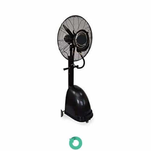 Ventilador nebulizador con resistencia variable black pro koolok