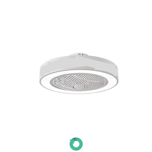 ventilador de techo sin aspas silencioso lampara invisible led